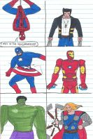 Marvel character gallery 1 by villainsprofile