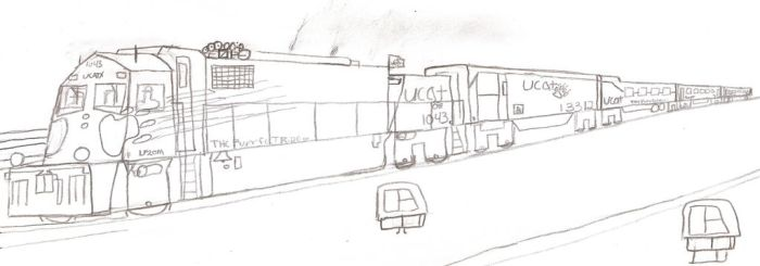 Ulster Co Transit Authority Lp20M #1043 by Tracksidegorilla1