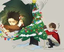 SNK- Happy Holidays! by h-yde