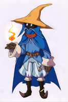 Black Mage by Halgalaz