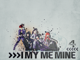 I MY ME MINE. by skykeys