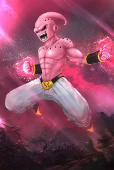 Kid Buu by JasonsimArt