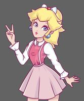 Peach Finished by Chocolona