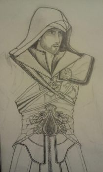 Unfinished Ezio by Kaptain-Rogers