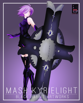 Mash Kyrielight by blackrabbitartworks