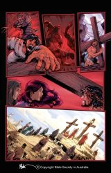 Crucifixion Page Colour by PrisonerOnEarth