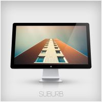 Suburb Wallpaper by zomx