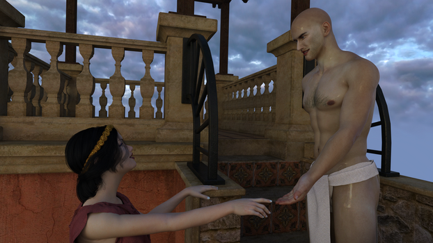 Rada meets her lover by Doing-it-in-3d