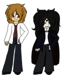Dr. Jekyll and Mr. Hyde re-design Reference by Artsy-Shumi