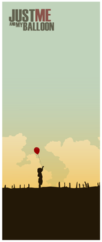 Just me and my Balloon by fudoki