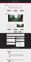 Blogger template Elegant connecion by Mrs Black by Ruda9