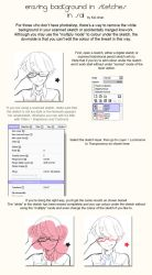 How to extract scanned linework in SAI by Keichan411