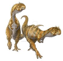 Carnotaurus Mates by Art-Minion-Andrew0
