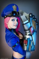 Officer VI - League of Legends by Kinpatsu-Cosplay