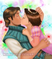 Eugene and Rapunzel new story by Milady666