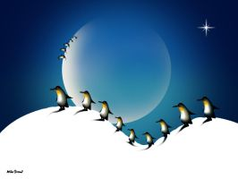 Penguins' dream by altergromit