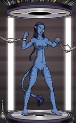 Pacified Neytiri 1/5 (commission) by Re-Maker