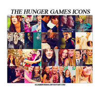 The Hunger Games Pack de Iconos by glambertemma