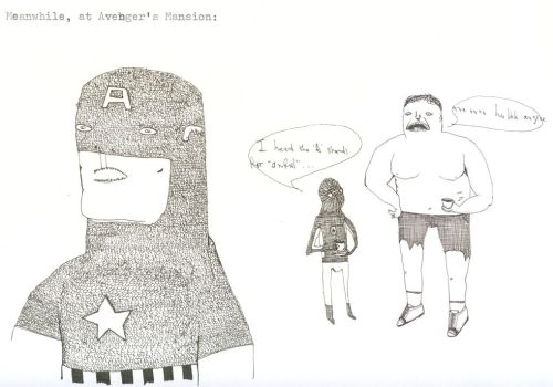 Meanwhile, at Avenger's Mansio by captainamerica