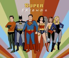 Super Friends by rocketdave