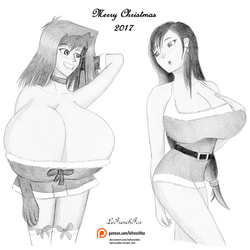 Merry Christmas 2017 - Younger and lewder by LeFrenchFox