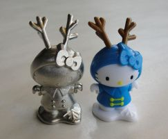 Pewter Hello Kitty by Psydrache
