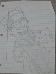 old drawing -sorry for bad lighting- by INomOnNoodles