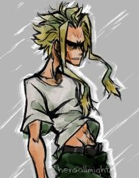 scribblemight by HeroAllMight
