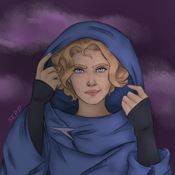 Sypha Belnades (Castlevania 2017) by Ruby-Fire