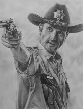 Rick Grimes by jerry-chacon