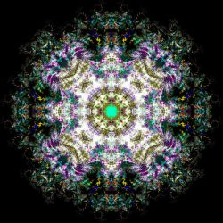 30 Sept 2012 Mandala by Discarn8