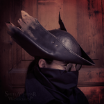 Bloodborne Hunter Leather Hat replica (v.3) by Svetliy-Sudar