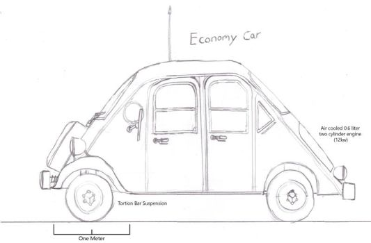 An Economy Car by Imperator-Zor