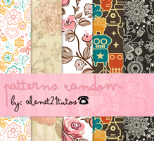 patterns Random Vintage by alenet21tutos