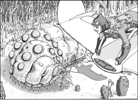Nausicaa 'Hello, Old Friend' by Komikino