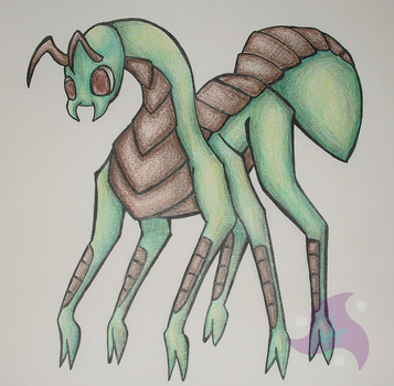 Ant by BlueEvelyn