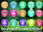 Rounded Icons Edit by Dianeyeditions