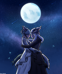 Commission: Final Fantasy 14 Wedding by thegamingdrawer