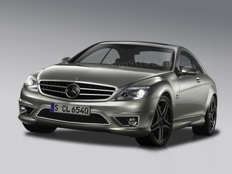 Mercedes CL65 AMG by Silver911