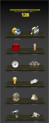 House Management Dock Icons by antialiasfactory