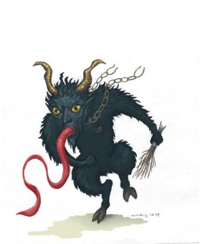 Krampus by ChrisChuckry