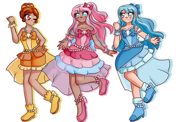 Ocean Fantasia Pretty Cure by GrandPrintemps