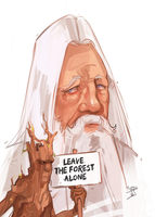 Leave the forest alone by beiibis