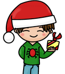 Holiday Peter Parker by Couy-Chan