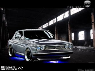 Nissan Skyline 1972 by LazziTuning