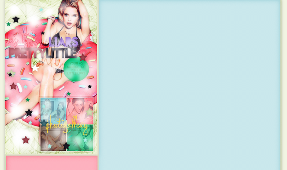Left design for prettylittleliars-only.blog.cz by silverstars-graphic