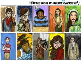 favourite tv characters by dot-dashlee