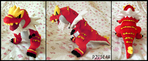 Tyrantrum Plush