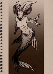 MerMay Day Thirteen by JesseCoyArt