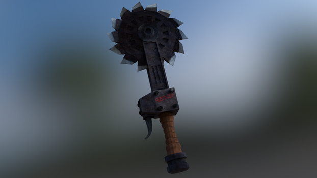 Rend - Saw Dagger by XShadowScaleX